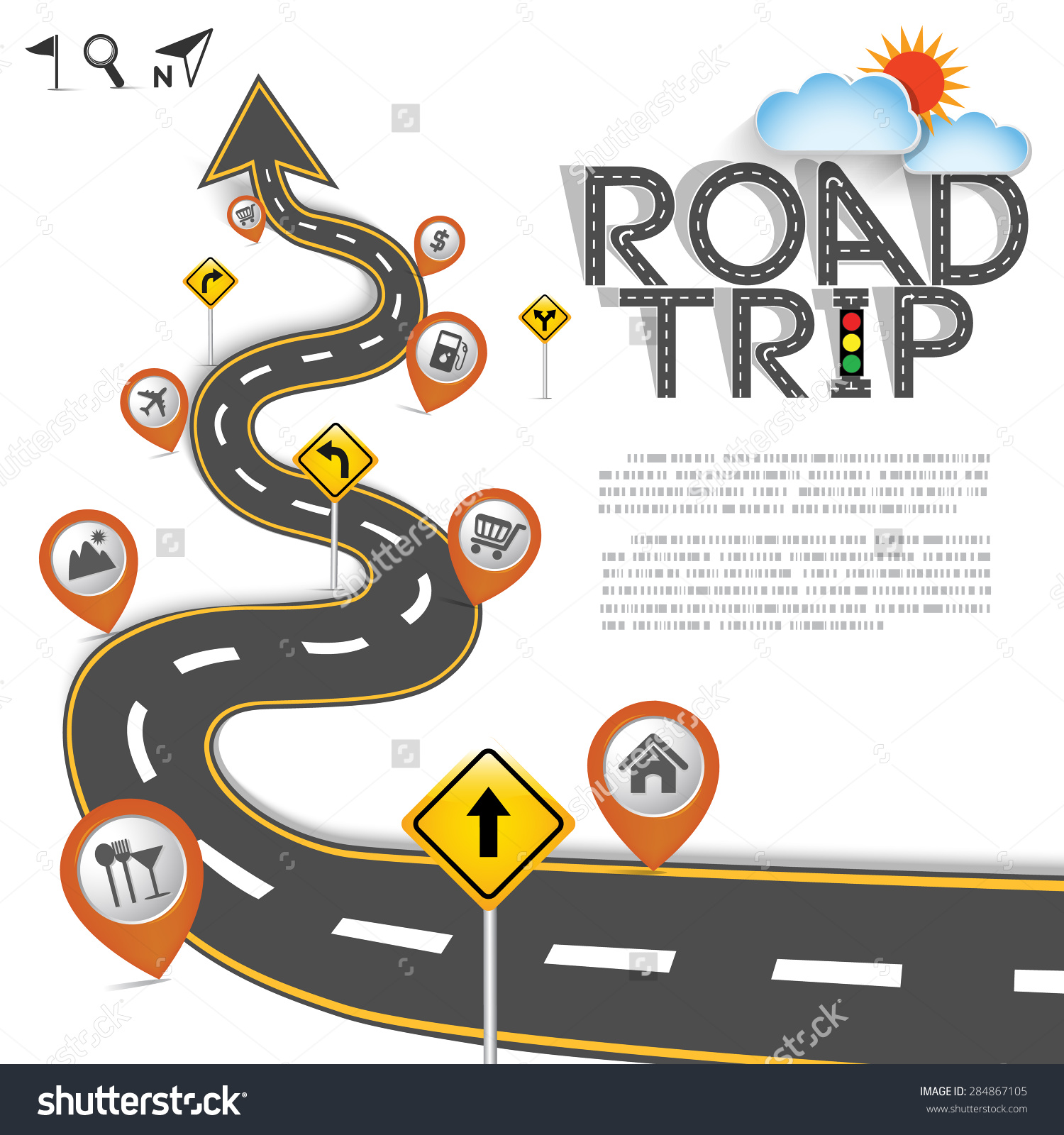 Road trip map clipart svg black and white stock Road map background clipart - ClipartFest svg black and white stock