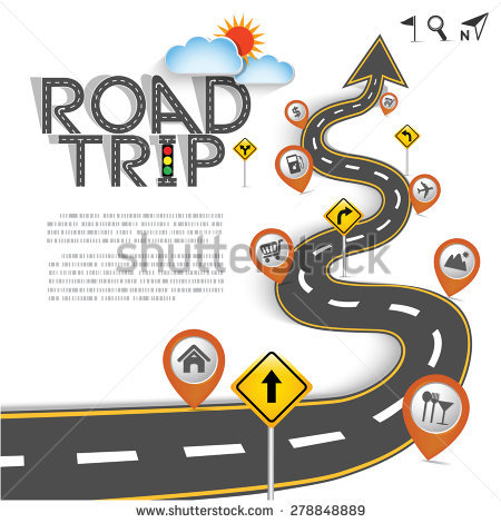 Road trip map clipart clip transparent stock Road Trip Stock Images, Royalty-Free Images & Vectors | Shutterstock clip transparent stock