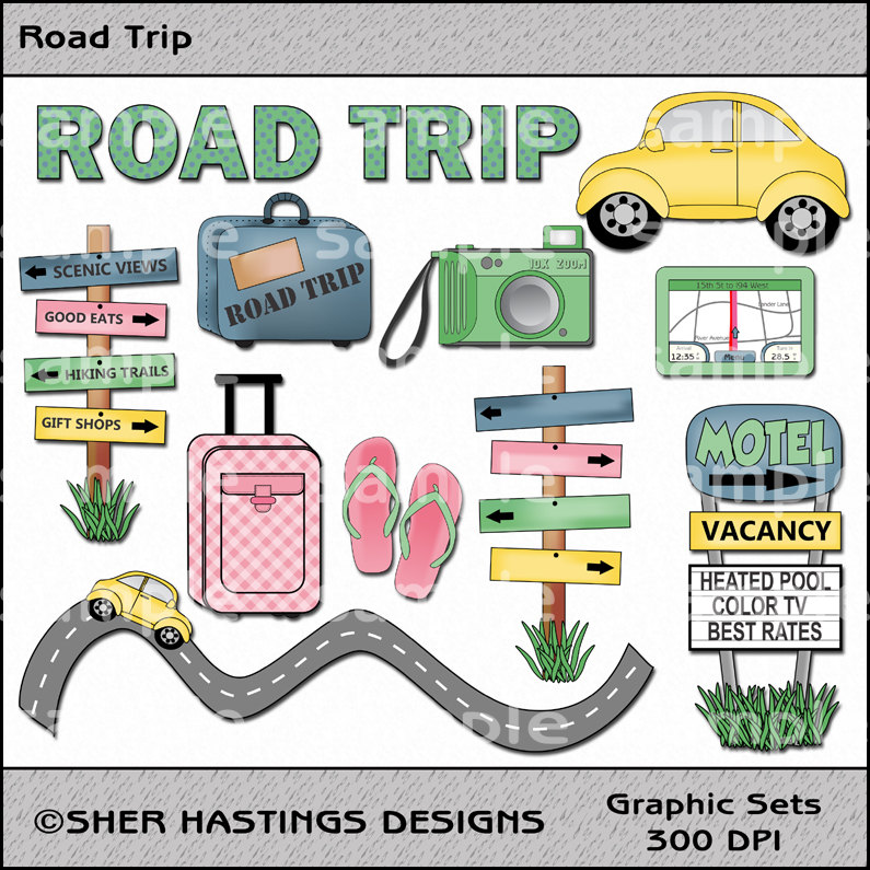 Road trip map clipart vector free library Road Trip Map Clipart - Clipart Kid vector free library