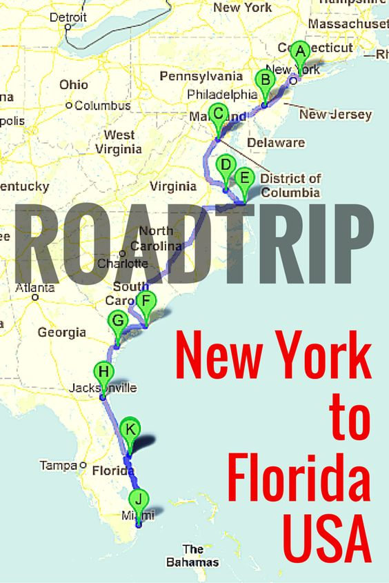 Road trip united states clipart vector black and white library Road Trip Along The East Coast of USA | New york, Best friends and ... vector black and white library