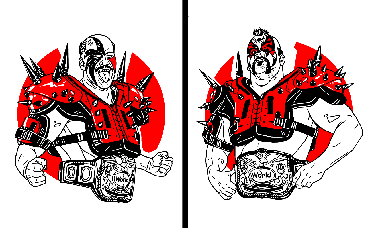 Road warriors clipart svg library library Road Warriors (Legion of Doom) svg library library