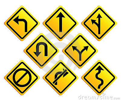 Road with an arrow clipart png black and white library Arrow road sign clipart - ClipartFox png black and white library