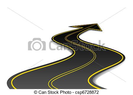 Road with an arrow clipart vector royalty free Road with an arrow clipart - ClipartFest vector royalty free