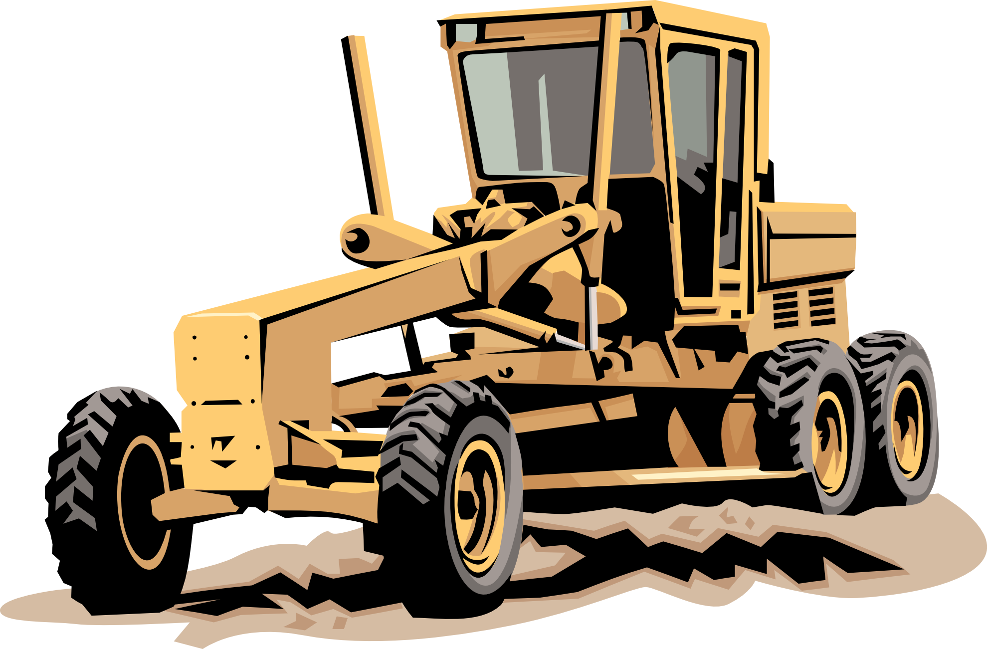 Road work machinery clipart clip art transparent Free Heavy Equipment Cliparts, Download Free Clip Art, Free ... clip art transparent