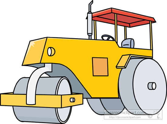 Road work machinery clipart svg library download Construction Equipment Clipart Free | Free download best ... svg library download