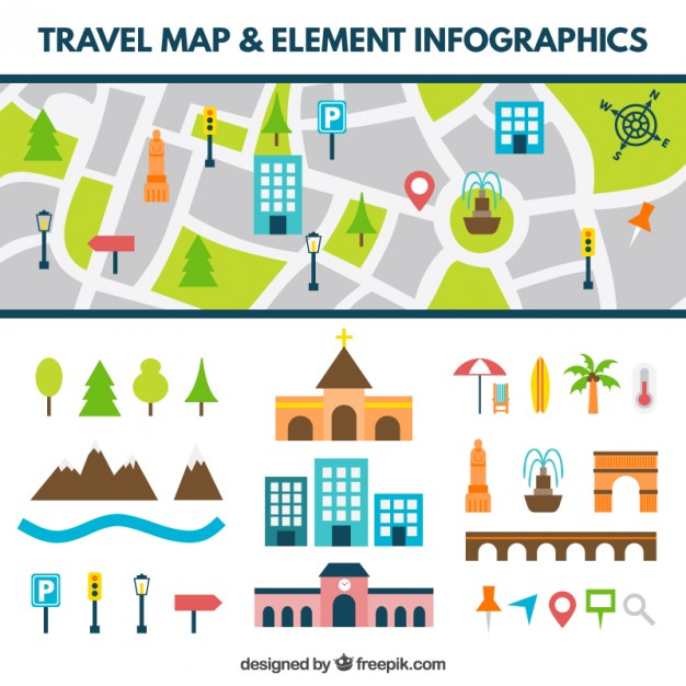 Roadmap with arrow clipart clip art freeuse Road Map Vectors, Photos and PSD files | Free Download clip art freeuse
