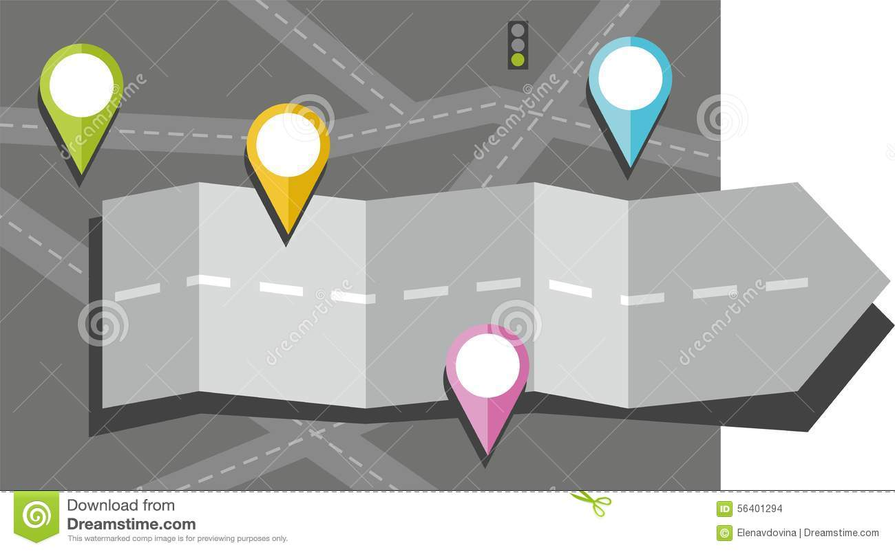 Roadmap with arrow clipart clipart freeuse Gray Arrow, Road, Map, Route, Object, Icon, Destination, Color ... clipart freeuse