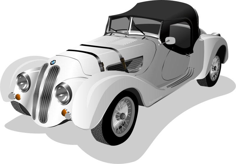 Roadster clipart image transparent Free Clipart: BMW 328 Roadster 1938 | jogdragoon image transparent