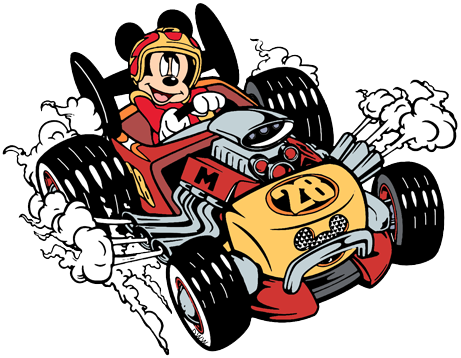 Roadster clipart svg library Mickey and the Roadster Racers Clip Art | Disney Clip Art Galore svg library