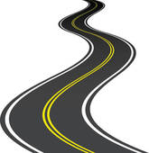 Roadsway clipart banner free Curved Roadway | Free download best Curved Roadway on ... banner free