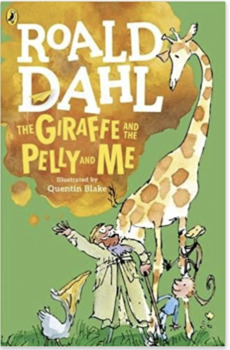 Roald dahl giraffe pelly and me clipart png freeuse download The Giraffe and the Pelly and Me Novel Study png freeuse download