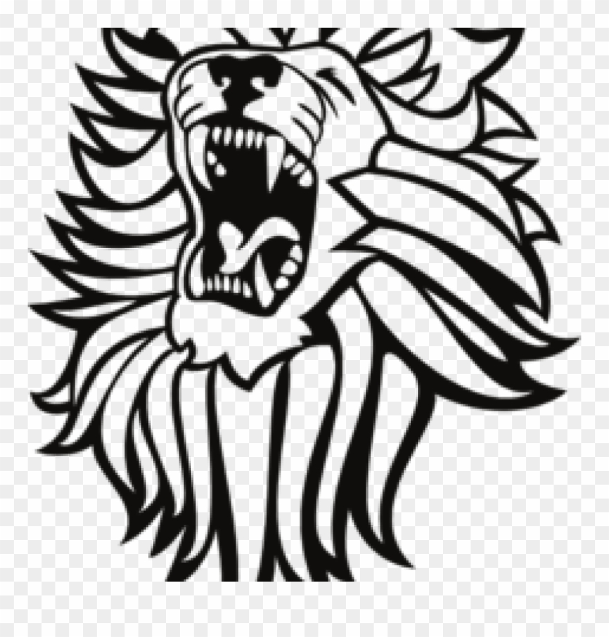 Lion roar clipart black and white png banner royalty free Roar Lion Cliparts - Roaring Lion Clipart - Png Download ... banner royalty free