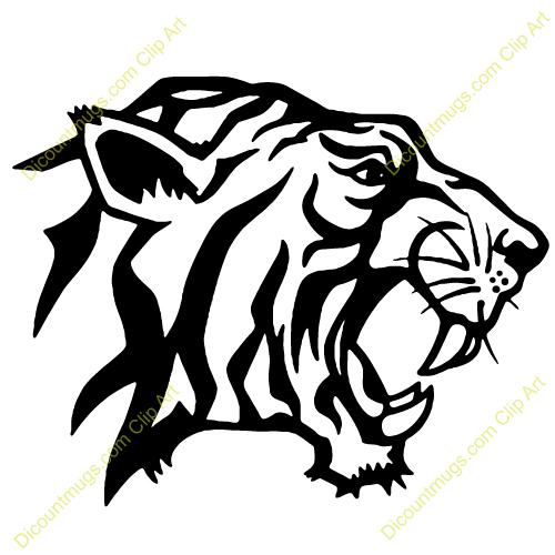 Roaring tiger head clipart vector stock 17+ Tiger Head Clip Art | ClipartLook vector stock