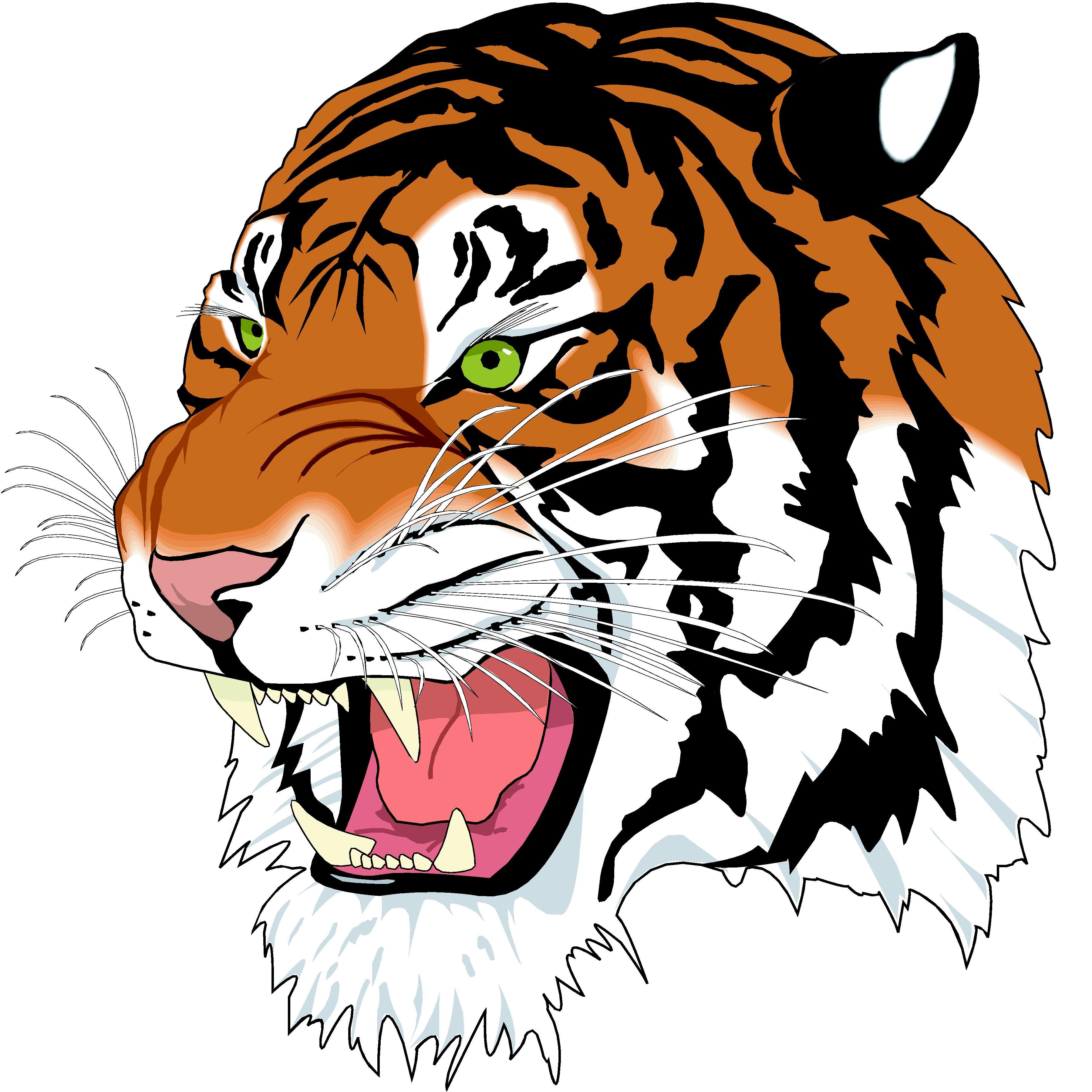 Roaring tiger head clipart clip transparent download 18+ Tiger Head Clip Art | ClipartLook clip transparent download
