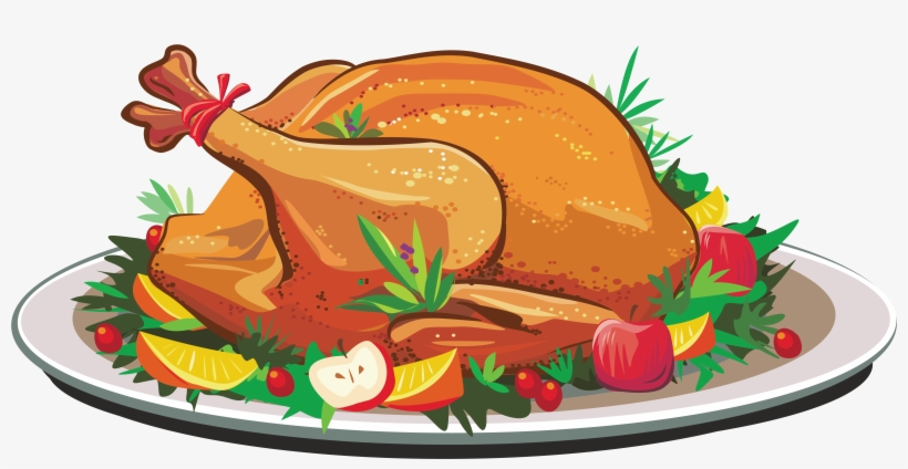 Roast clipart png download Roast Clipart Cooked Duck - Thanksgiving Turkey Cooked Clip ... png download