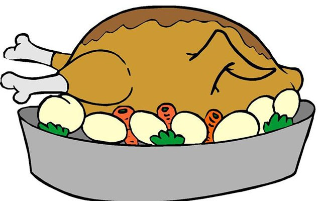 Roast turkey pictures clipart jpg library Roast turkey clipart 1 » Clipart Portal jpg library