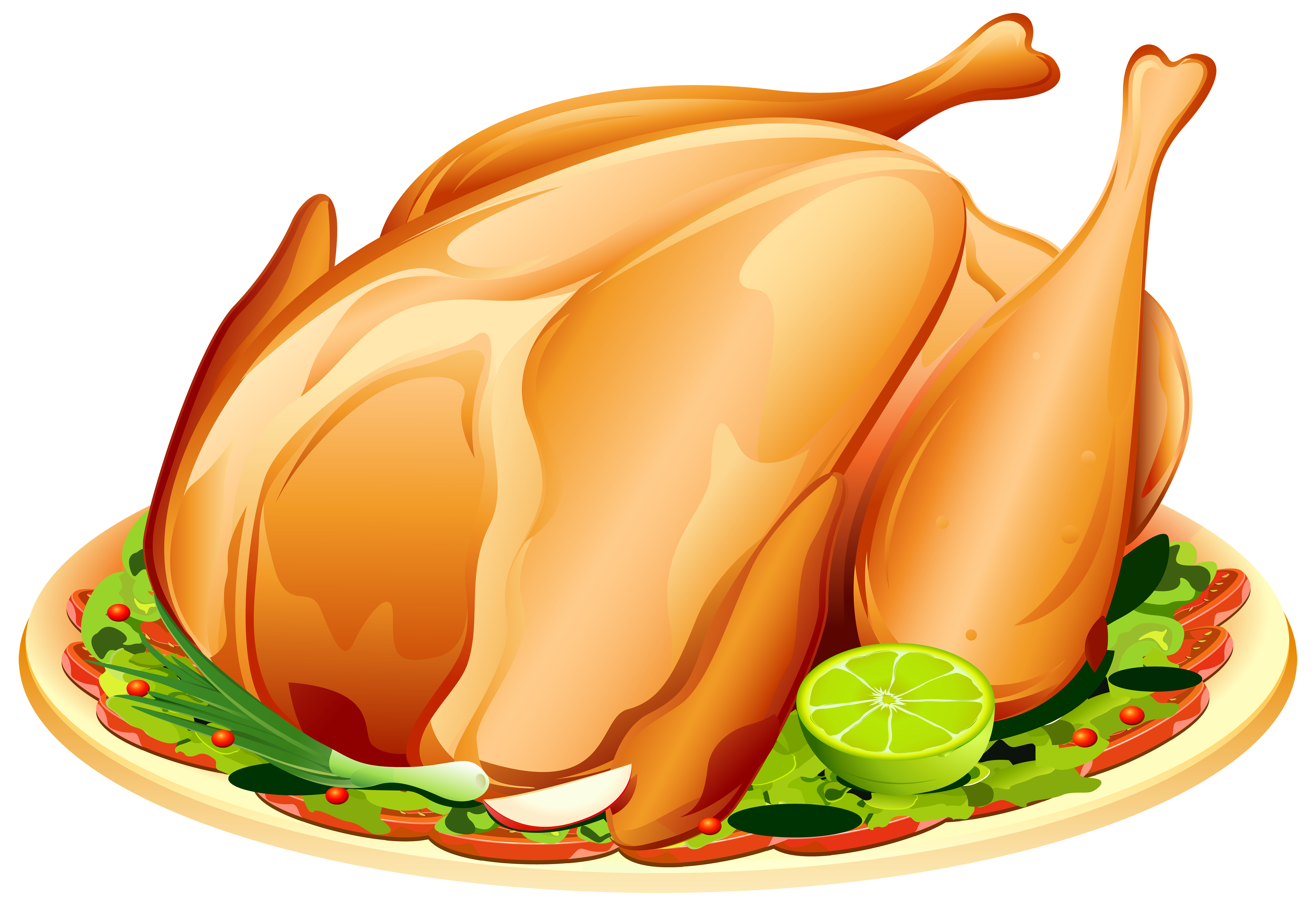 Roast clipart png transparent library Roast Turkey PNG Clipart Image | Gallery Yopriceville ... png transparent library