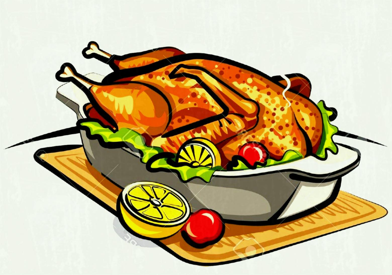 Roasted chicken clipart jpg royalty free download Roasted chicken clipart 1 » Clipart Station jpg royalty free download