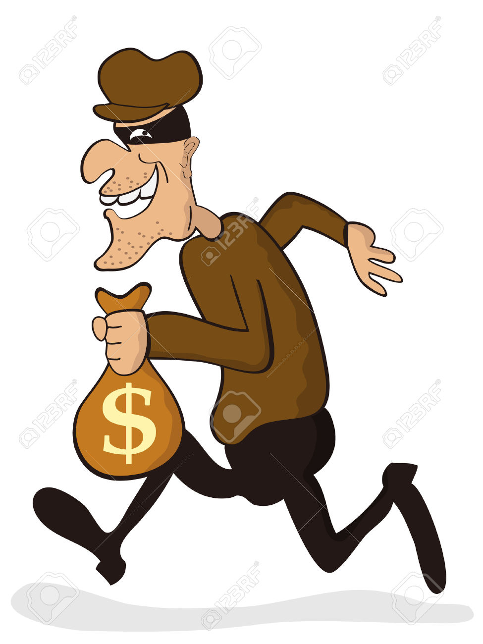 Robber background clipart image transparent stock Cartoon robber clipart - ClipartFest image transparent stock