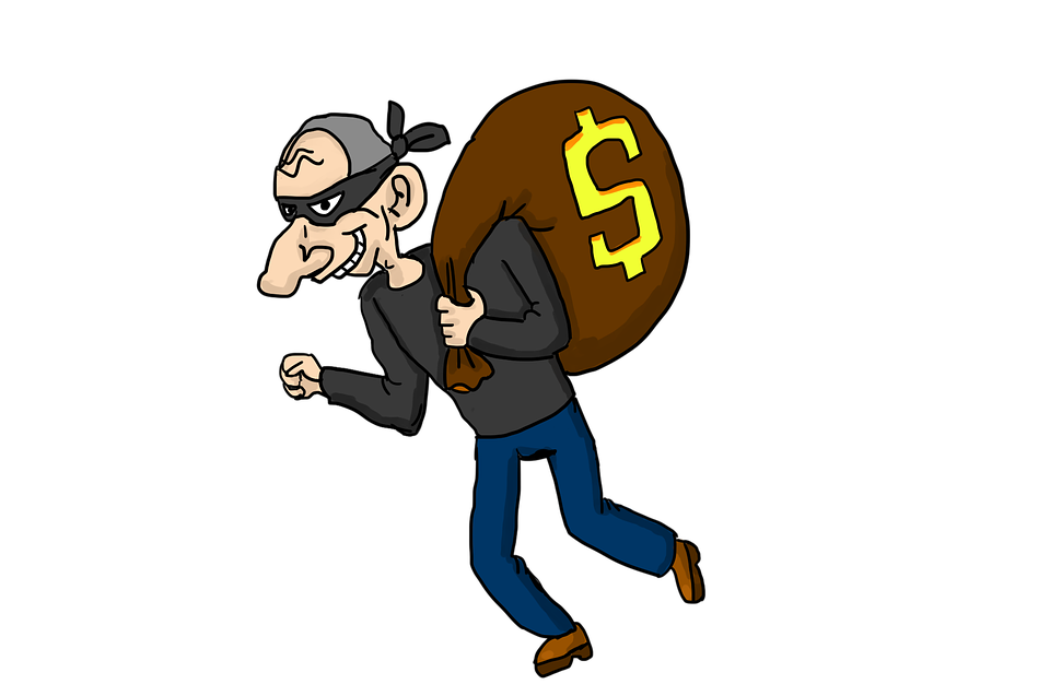 Robber clip art library Thief, robber PNG images free download library
