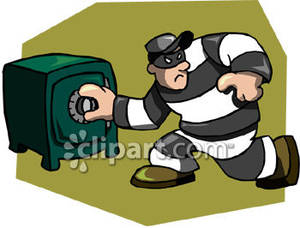 Robber clip art clip art black and white library Robber Clip Art & Robber Clip Art Clip Art Images - ClipartALL.com clip art black and white library