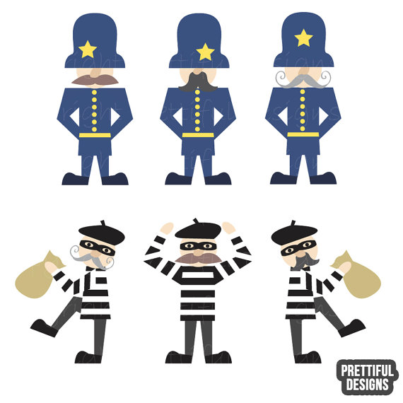 Robber clipart free graphic royalty free download Clip Art Of Police And Robbers Clipart - Clipart Kid graphic royalty free download