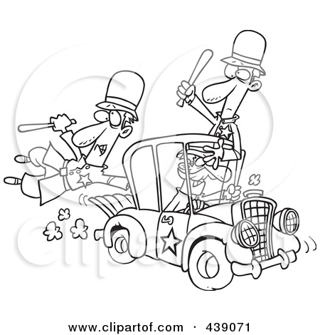 Robber in cop car clipart clipart freeuse Royalty Free Stock Illustrations of Sheriffs by Ron Leishman Page 1 clipart freeuse
