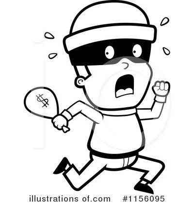 Robber outline clipart svg free library Robber outline clipart - ClipartFest svg free library