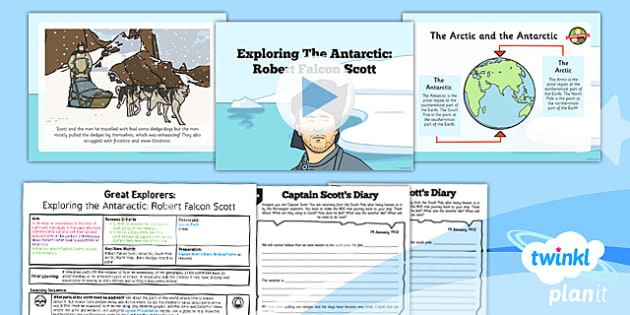 Robert falcon scott clipart clip royalty free library History: Great Explorers: Exploring the Antarctic Robert ... clip royalty free library