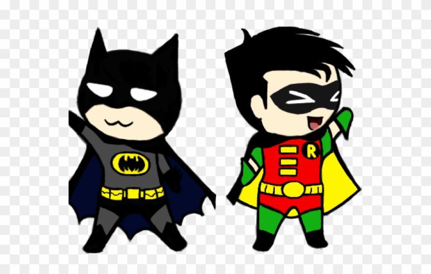 Robin superhero clipart picture transparent download Original - Batman And Robin Chibi Clipart (#3794723 ... picture transparent download
