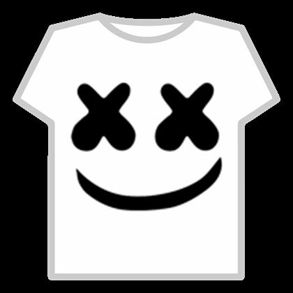 Roblox clipart shirt vector download Marshmello T-Shirt - Roblox vector download