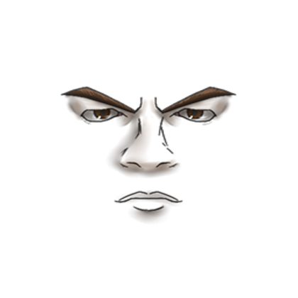 Roblox face clipart image download WWE - Roman Reigns Face - Roblox image download