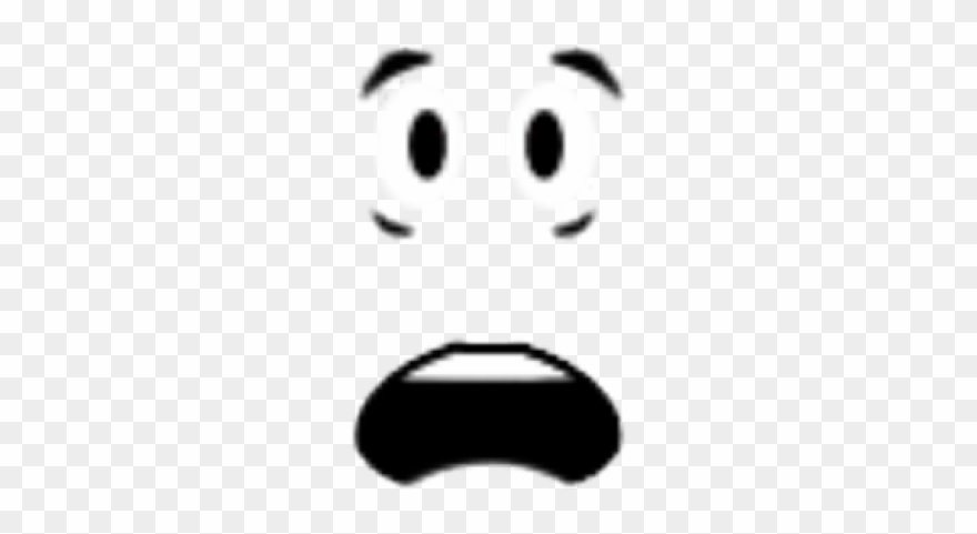 Roblox face clipart image library Fear Clipart Shocked Face - Roblox - Png Download (#453171 ... image library