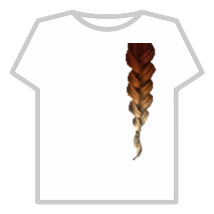 Roblox hair extensions clipart png free Cinnamon Shaded Braid Hair Extensions - Roblox png free