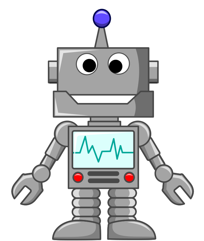 Robot cat clipart image black and white library Robotics Clipart (68+) image black and white library