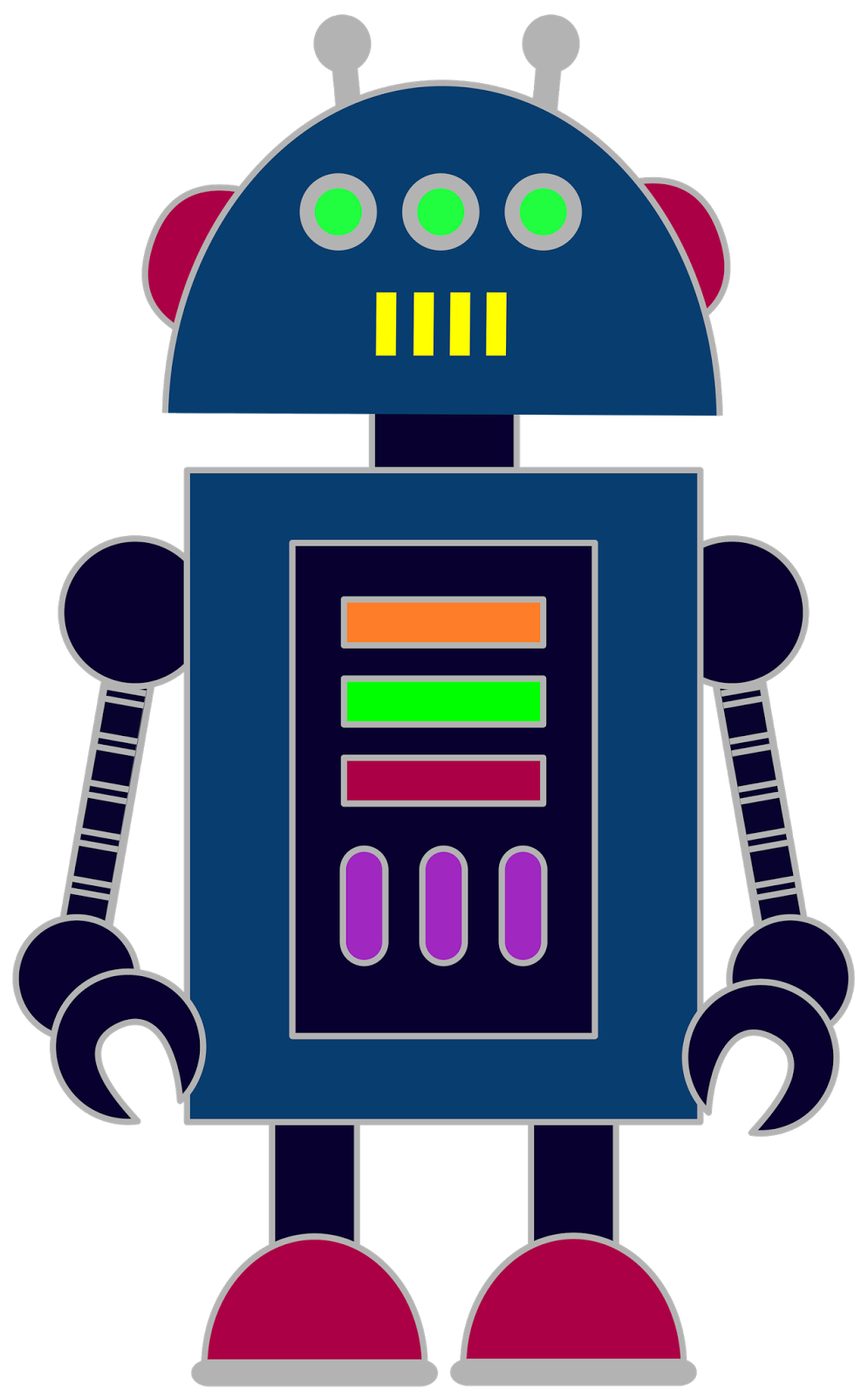 Robot cat clipart clip art library Free robot clip art for classrooms, teachers and parents. | Escuela ... clip art library