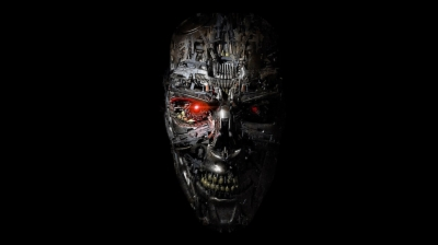 Robot half face clipart jpg royalty free library Result for terminator face png   fourjay.org jpg royalty free library