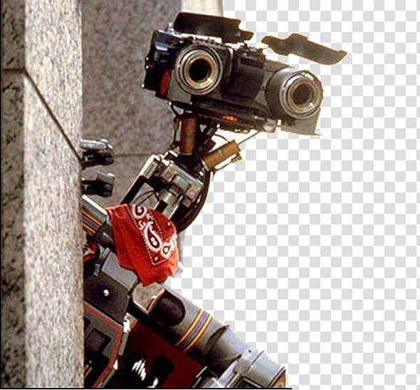 Robot with camera clipart image transparent Johnny 5 Robot YouTube Sentience Film, Robotics transparent ... image transparent