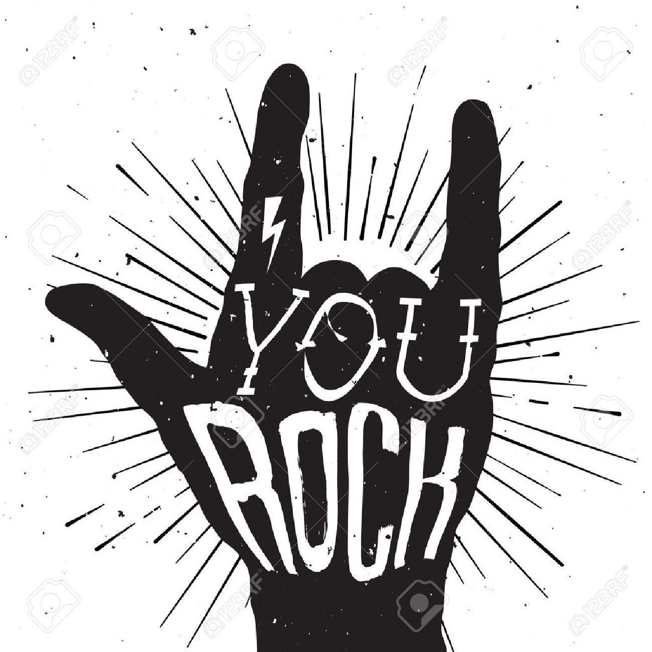 Rock and roll clipart black white graphic free download Rock and roll clipart black and white 4 » Clipart Station graphic free download
