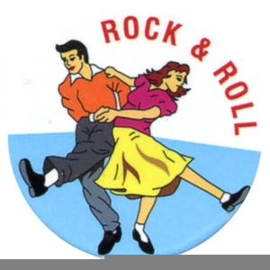 Rock and roll dancers clipart clip black and white Rock N Roll Dancers Clipart | Free Images at Clker.com ... clip black and white