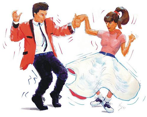 Rock and roll dancers clipart free library Fifties Rock And Roll Clip Art | rock and roll 1000 ... free library