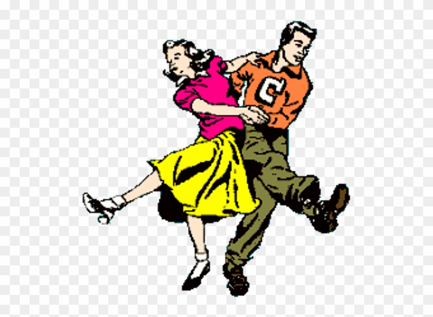 Rock and roll dancers clipart clip art library Sock Hop Sundays 50 S 60 S Music Dance Party Sunday - London ... clip art library