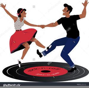 Rock and roll dancers clipart png free stock Clipart Rock N Roll Dancing | Free Images at Clker.com ... png free stock