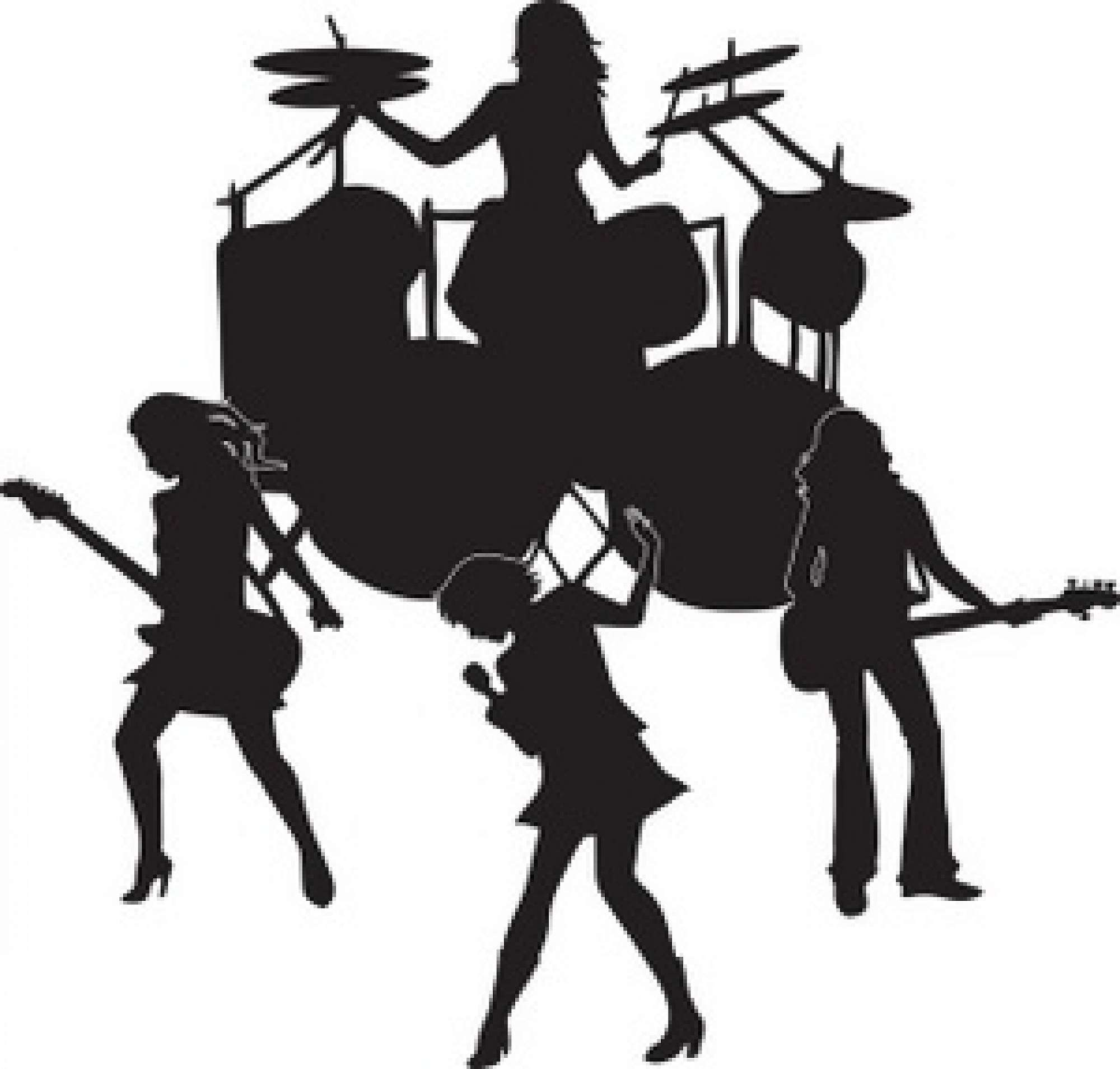 Rock band singer clipart clipart download Singer wanted for school rock band. clipart download