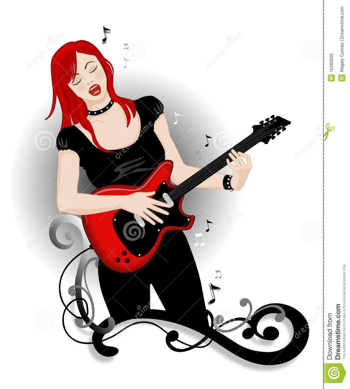 Rock chick clipart vector Rock and roll girl | Clipart Panda - Free Clipart Images vector