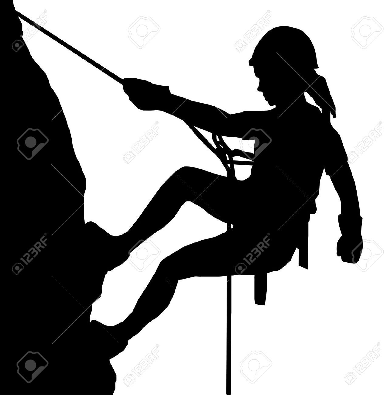 Rock climbing clipart girl image royalty free download Showing post & media for Cartoon girl rock climbing wall ... image royalty free download