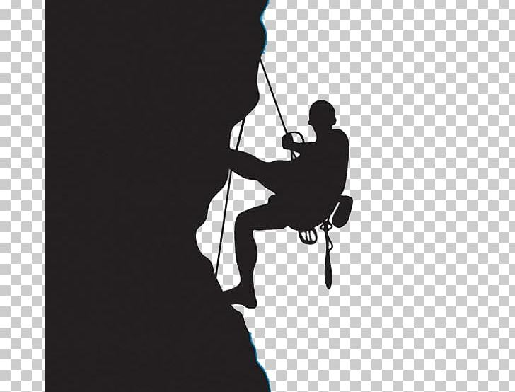 Rock climbing images clipart clip library Rock Climbing Climbing Wall PNG, Clipart, Black And White ... clip library