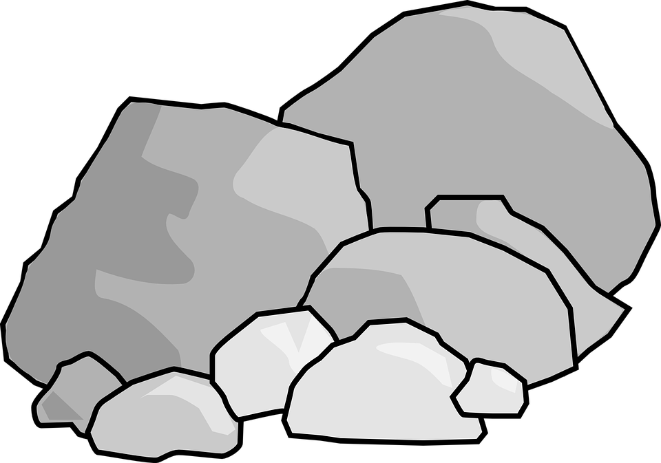 Rock clipart free png Rock black and white clipart collection – Gclipart.com png