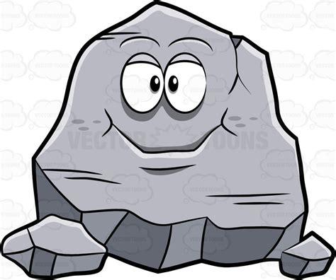 Rock face clipart