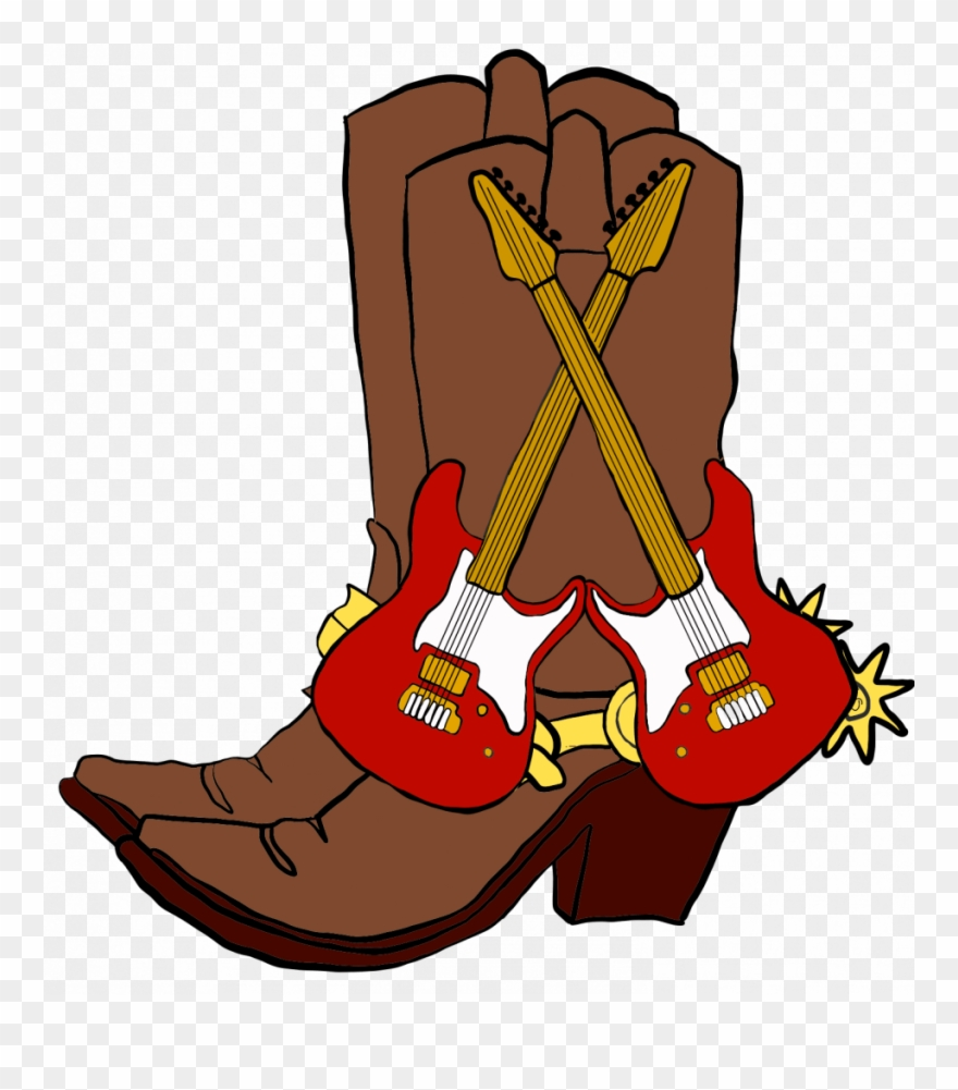 Rock illustration clipart picture royalty free Rock N Boots Music Festival-cancelled - Illustration Clipart ... picture royalty free